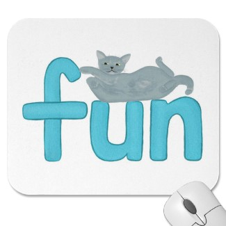 Cats love fun